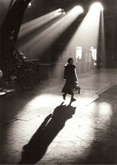 Toni Schneiders - In the Morning before 8 Frankfurt am Main - February 1951