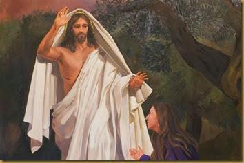 CRISTO RESUCITADO CON MARIA