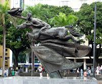Statue in Perreira