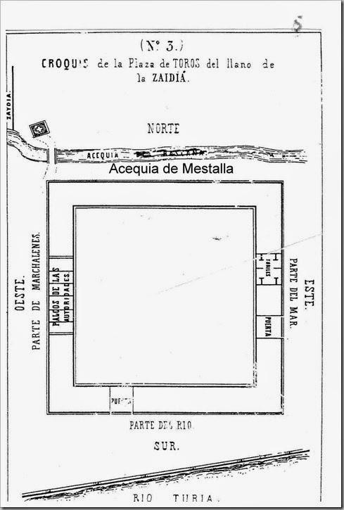 plaza de toros del llano de la Zaidia