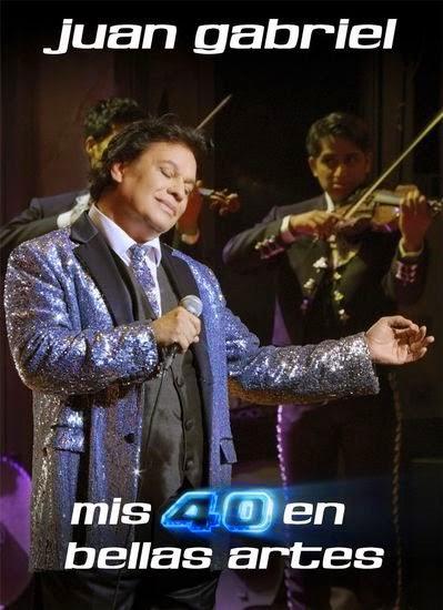 Juan Gabriel – Mis 40 En Bellas Artes – Latino