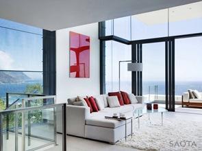 diseño de sillones modernos casa nettleton 199 saota