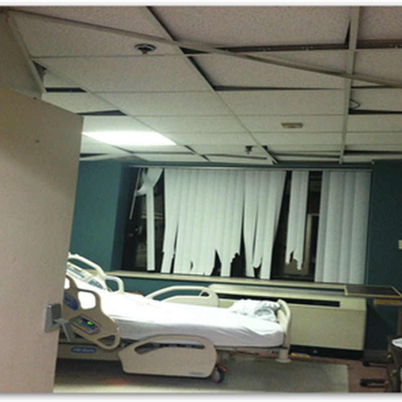 Christmas Day Tornado Damages Mobile Alabama Infirmary Hospital