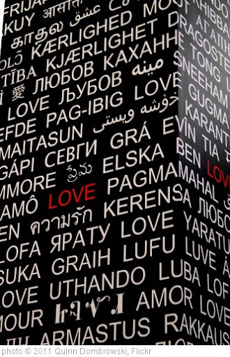 'Love in less-common languages' photo (c) 2011, Quinn Dombrowski - license: http://creativecommons.org/licenses/by-sa/2.0/