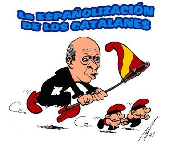 Espanholizacion de los catalanes