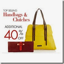 Amazon: Buy Handbags and Clutches with upto 15% off + 30% or 32% off from Rs.559