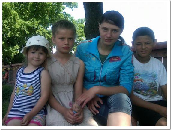 Maria Alina, Vika, Sasha