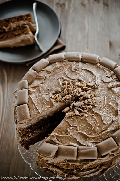 Chocolate Ovamaltine Daim Cake (0031)by Meeta K. Wolff