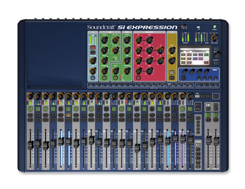 Soundcraft Si Expression 2 Top 500