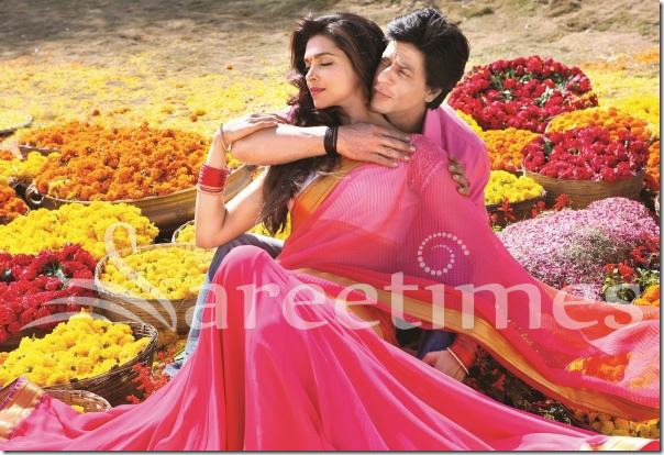 Deepika Padukone Latest Sari Stills in 'Chennai Express ...