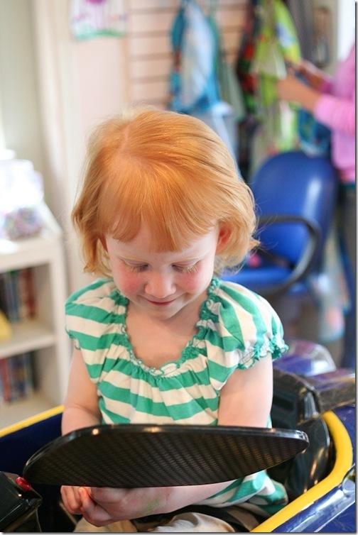 Sara's first haircut-24 blog