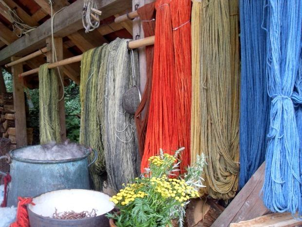 uld og plantefarver