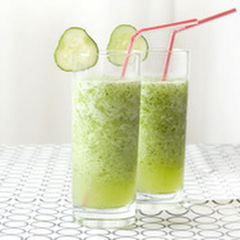Cucumber and Basil Slush