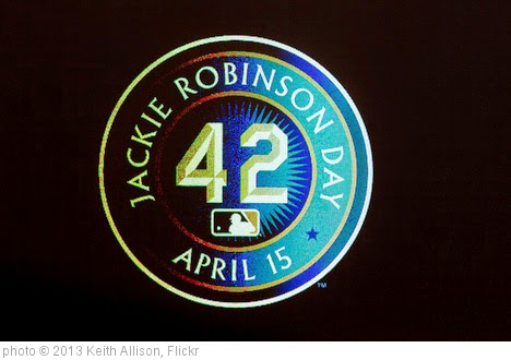 'Jackie Robinson Day' photo (c) 2013, Keith Allison - license: https://creativecommons.org/licenses/by-sa/2.0/