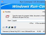Alternativa alla finestra Esegui di Windows: Run-Command