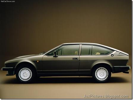 Alfa Romeo Alfetta GTV 6 2.5i - Side1