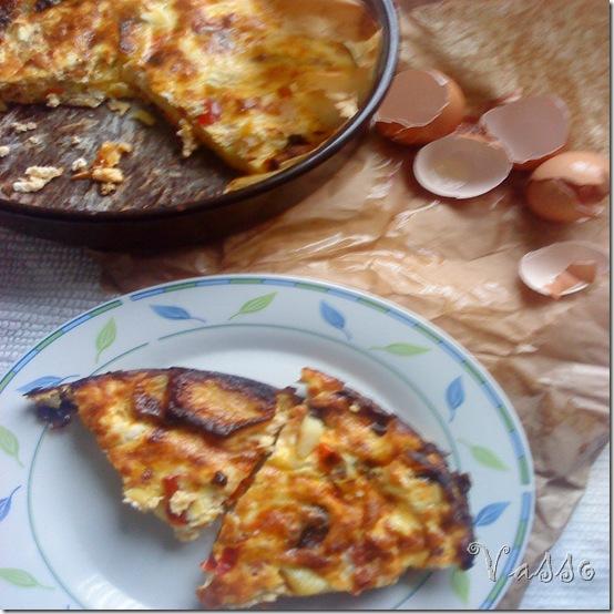 seljačka omlet sa krompirima9
