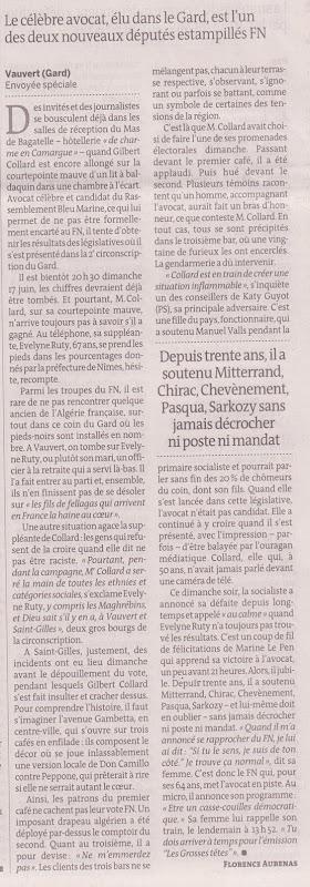 Collard elegit a Vauvert