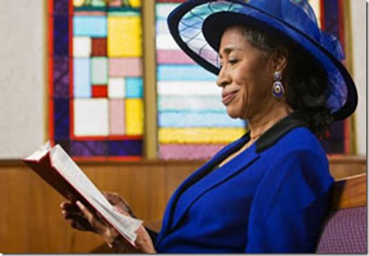 mulher-igreja