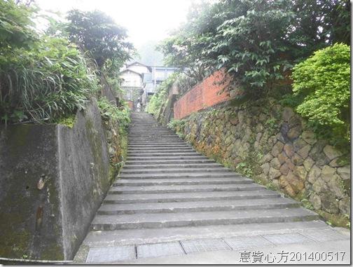 金瓜石醫院前的階梯