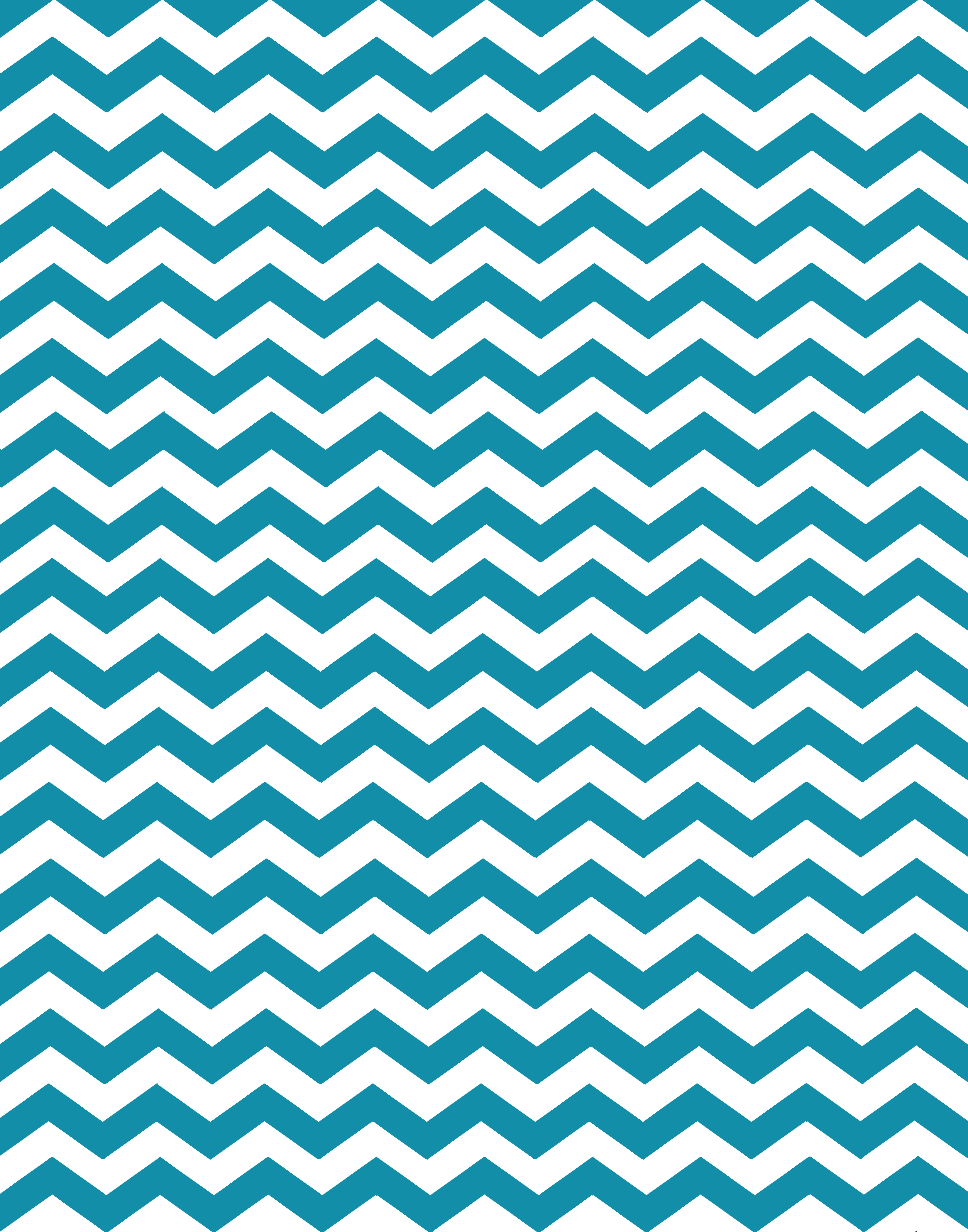 teal and pink chevron background