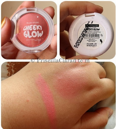Priscilla Clara beauty blogger IBB MUC Maybelline makeup Cheeky Glow