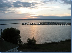 2762 Wisconsin US-2 East - Ashland - Best Western Hotel Chequamegon - sunset over Lake Superior  we can see from our room