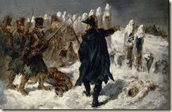 Michel  Ney contre les cosaques