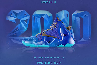 nike lebron 11 id two time mvp 1 02 A Decade of Moments // NIKEiD LeBron XI Two Time MVP