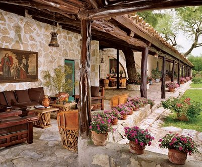 Great Spanish Patios And Entry Ways