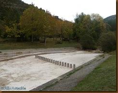Piscina fluvial y área recreativa de la Foz de Benasa - Navascués