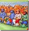 [The Vanaras working for Rama]