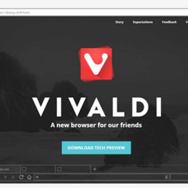 Vivaldi, browser per gli orfani di Opera.