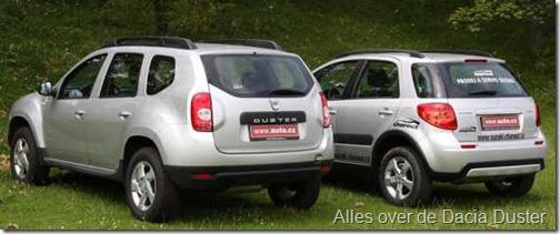 Dacia Duster vs Suzuki SX4 02