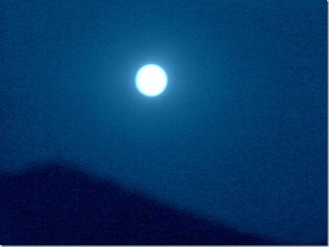 A Blue Moon.........