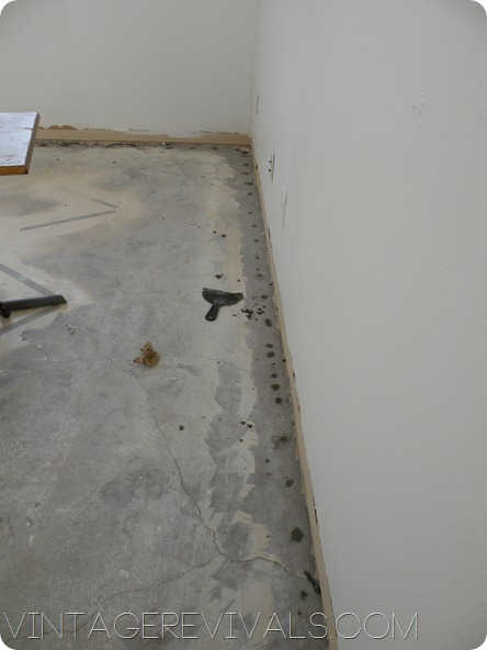 painted concrete floors o vintage revivals With how much to paint concrete floor