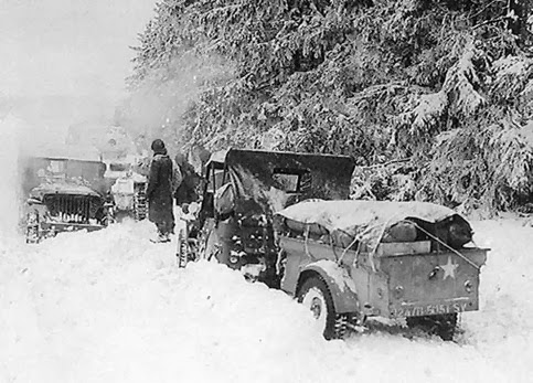 505 Service Company Ardennes1945