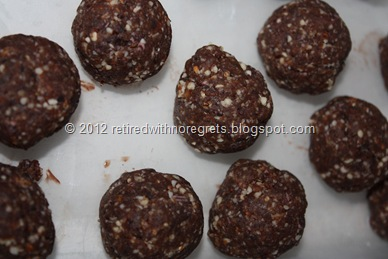 Raw Chocolate Balls