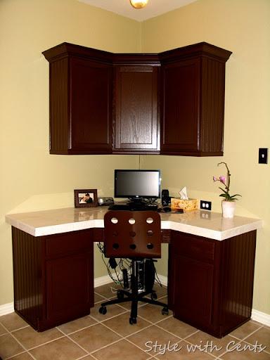 Elegant $750 Total Kitchen Remodel Sherwin Williams Turkish Coffee Bead Board  Cabinets 4