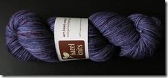 Hazel Knits Artisan Sock - Iris