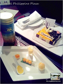 Sofitel's Club Millésime Welcome Cake