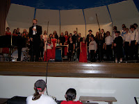 I sang in various choirs every year from seventh grade until I graduated from Lewis & Clark. I love singing. This was my last concert in high school with my most influential and beloved director Lloyd Walworth, or Mr. Wally as we called him.