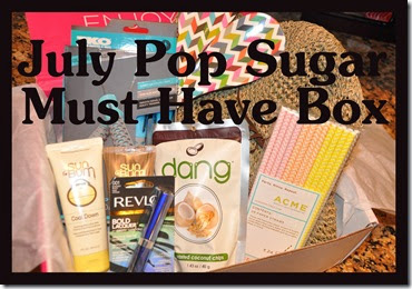 July Pop Sugar Must Have Box Headliner