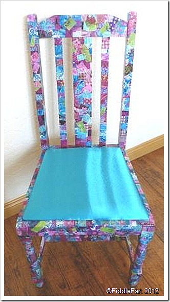 Decopatch Chair.