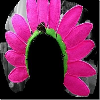 Disfraz de flor Patrones para diadema - Disfraz casero a9a5d30c32b