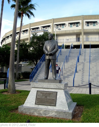 'Tampa - George Steinbrenner Field - George Steinbrenner Statue' photo (c) 2012, Jared - license: http://creativecommons.org/licenses/by/2.0/