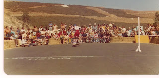 Bruce doing a circular nose wheelie at the Y.M.C.A. Contest