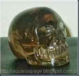 crânio de cristal E.T