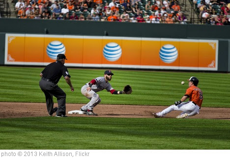 'Dustin Pedroia, Nate McLouth' photo (c) 2013, Keith Allison - license: https://creativecommons.org/licenses/by-sa/2.0/
