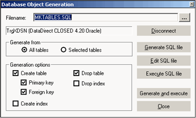 Informatica Source definition creation using SQL
